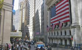 Корпоративный негатив привел к закрытию Уолл-стрит в красной зоне