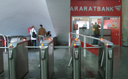 Araratbank opens first sales mini-center