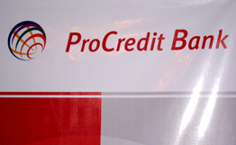 Procredit bank introduces single utilities payment system